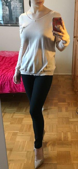 Pullover Laetitia Mem Gr. M 38 Pulli Shirt hellrosa rose Reißverschluss leicht
