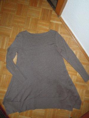 Pullover lang Braun Gr. 38