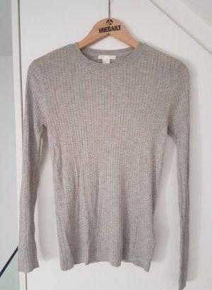 Pullover-Langarm grau