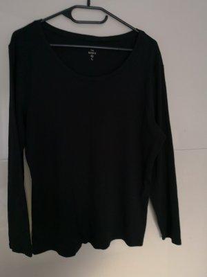 Pullover, Langarmshirt, Gr. XL, schwarz, C&A
