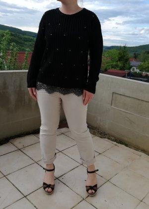 Primark Coarse Knitted Sweater black-dark grey