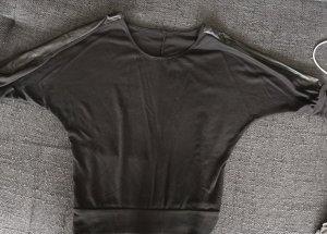 Pullover Leder Optik