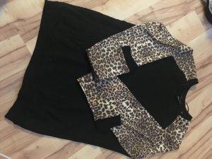 Pullover Leoparden Muster