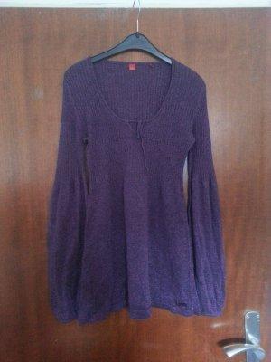Jersey de punto violeta oscuro