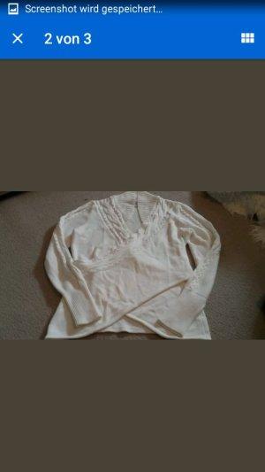 Pullover linea tesini beige Gr. 38 NEU
