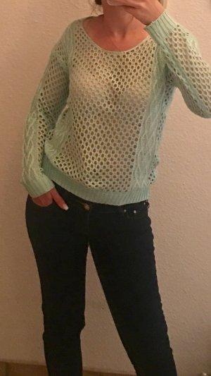 Pullover Lochstrickpullover