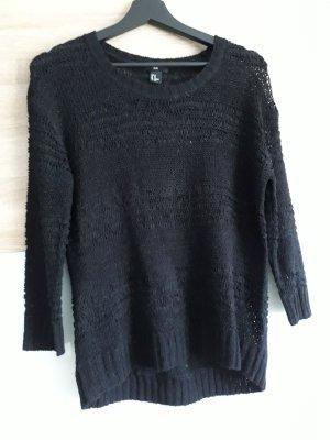 Pullover locker schwarz