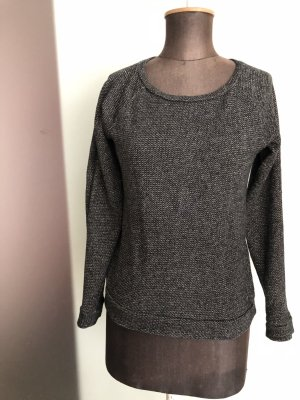Pullover Longsleeve in Tweed Look Gr 36 38 M von Esprit