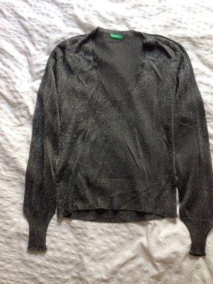 Pullover Lurex Silber Benetton