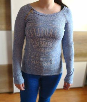 Pullover Madonna, blau, Gr. M