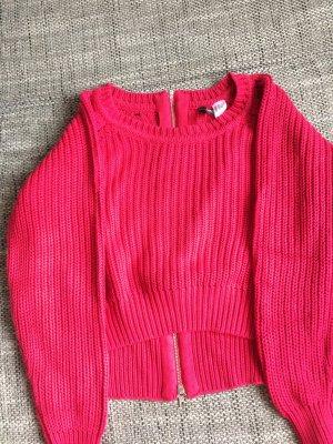 Pullover magenta Größe M