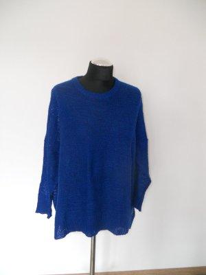 Pullover Mango blau Gr. L