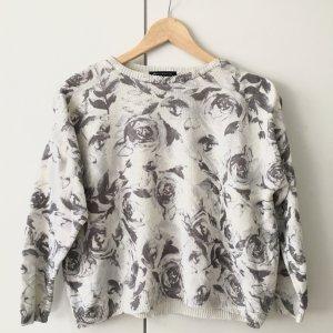 Pullover, Mango, Blumen Allover Print, Größe M