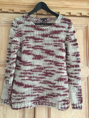 Mango Knitted Sweater multicolored mixture fibre