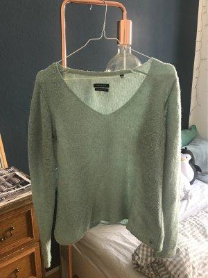 Marc O'Polo Wollen trui grijs-groen