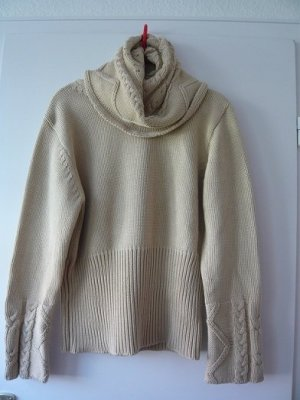 Pullover, Marke: Alba Moda, Gr. 36/38, sand, gebraucht