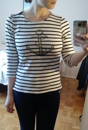Pullover Massimo Dutti Gr S 36 Pulli Shirt streifen anker Sailor matrose seemann