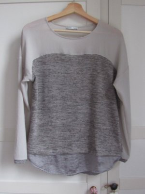 Pullover Materialmix Zara