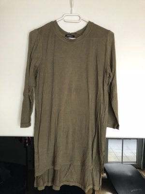 Pullover mit 3/4 Ärmel & seitlichem Schlitz