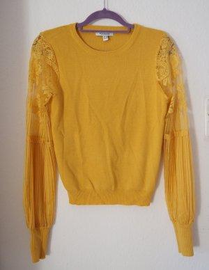 Pullover mit Ärmeln aus Spitze Boho Bohemien blogger