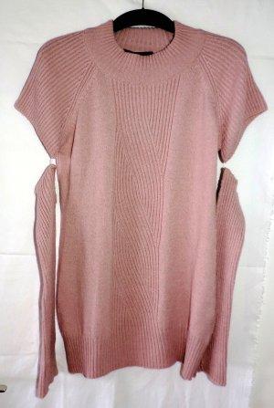 Pullover mit Ärmeln Rosa Sarah Kern Gr. M 40 Hingucker Trend neu!