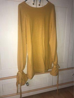 Mango casual Long Sweater gold orange