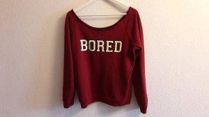 Pullover mit Aufdruck