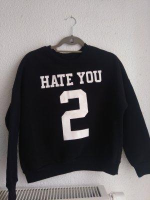 Pullover mit Aufschrift