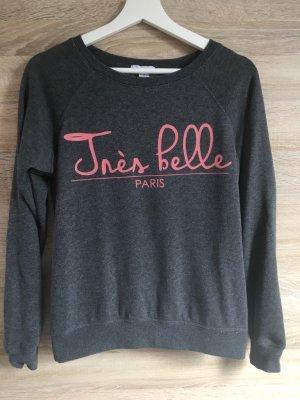 """Pullover mit Aufschrift """"Tres Belle"""""""