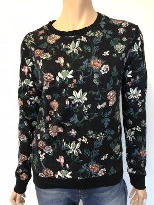 Pullover mit Blumen Muster