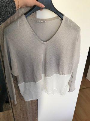 Pullover mit Bluse von ZARA