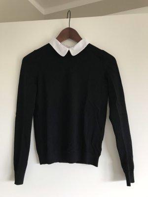 Pimkie Maglione lavorato a maglia nero-bianco