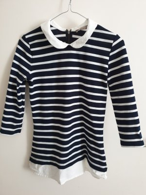 Orsay Gestreept shirt wit-donkerblauw