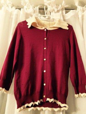 Pullover mit Bubikragen