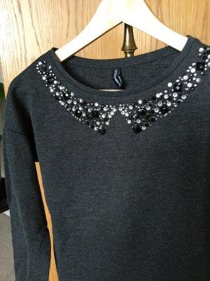 Pullover mit Bubikragen M