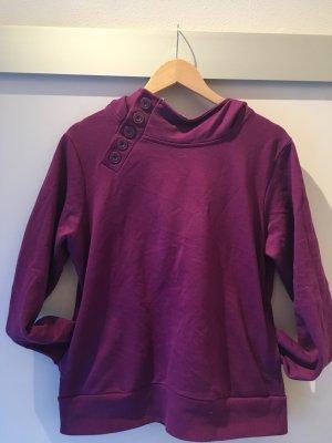 bpc Capuchon sweater lila