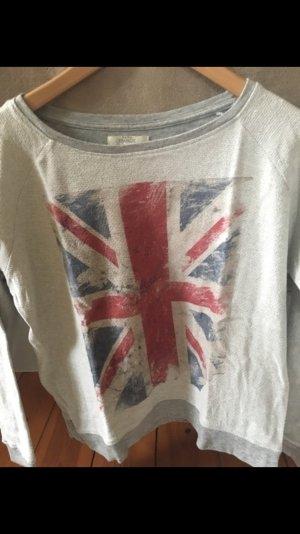 Pullover mit der englischen Flagge