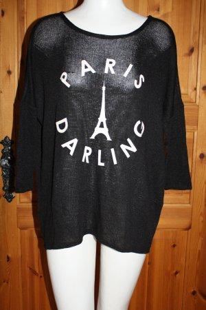 Pullover mit dreiviertel Ärmeln und Druck von H&M
