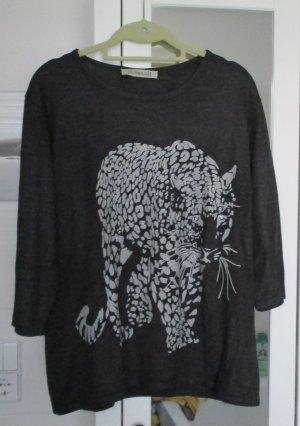 Pullover mit Druck, Gr. 42, 2 x getragen