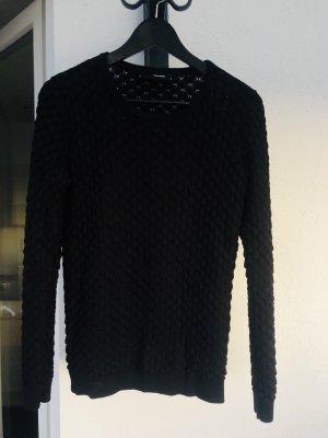 Pullover mit edler Wabenoptik