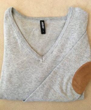 Pullover mit Ellenbogenpatches