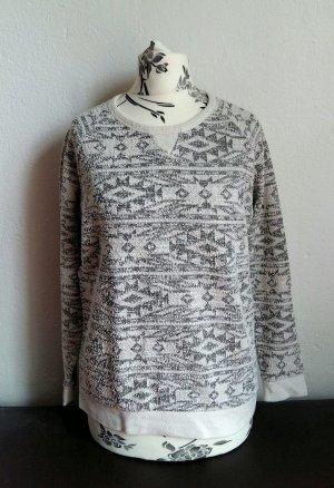 Pullover mit Ethno Muster von Pimkie Gr.34/36
