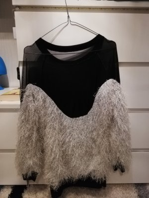 & other stories Sweater Dress white-black