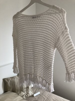 Pullover mit Fransen von Hallhuber