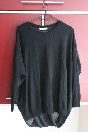 Pullover mit gewickelter Rückseite