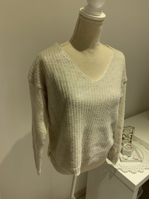 Guess Coarse Knitted Sweater natural white-cream