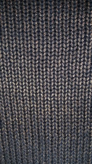 Pullover mit Glanzbeschichtung in Bronzefarben