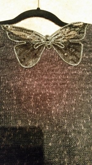 Pullover mit glitzerndem Schmetterling: #dein_Preisvorschlag