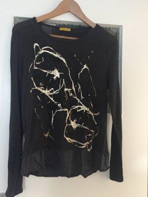 Pullover mit Goldenem Druck