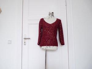 Pullover mit goldenen Pailletten von Kookai